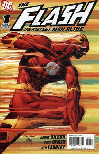 Image: Flash: The Fastest Man Alive #1 (Joe & Andy Kubert 1:10 variant) - DC Comics