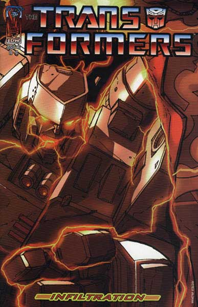 Image: Transformers: Infiltration #6 (1:25 incentive) (R1 A) - IDW Publishing