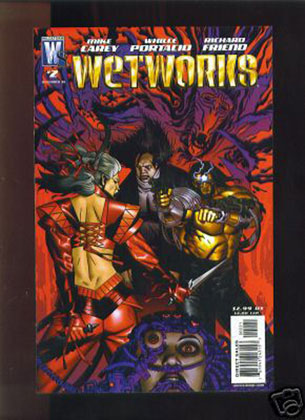 Image: Wetworks #2 (Michel Golden variant cover) - DC Comics
