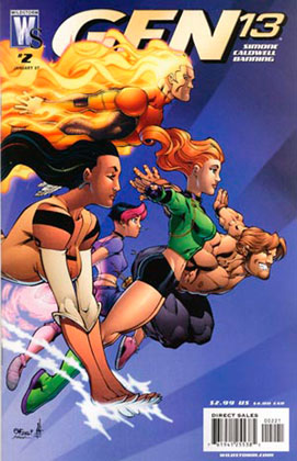 Image: Gen 13 #2 (Ed McGuinness variant cover) - DC Comics