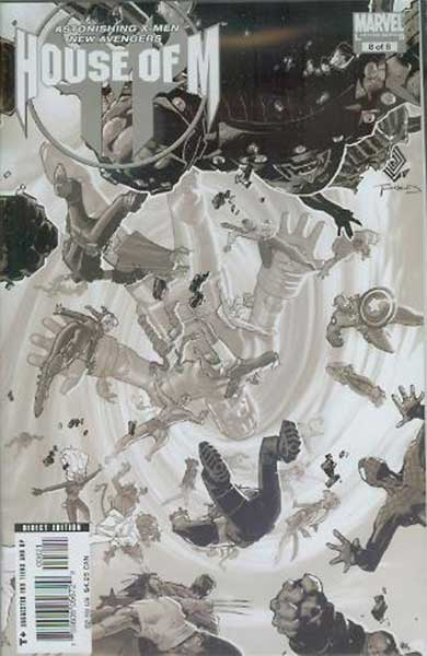 Image: House of M #8 (Bachalo variant cover) - Marvel Comics
