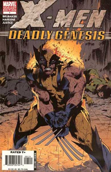 Image: X-Men: Deadly Genesis #1 (2nd print variant edition) - Marvel Comics