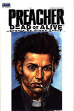 Image: Preacher: Dead or Alive - The Collected Covers HC  - DC Comics