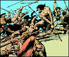Image: Chronicles of Conan Vol. 10: When Giants Walk the Earth SC  - Dark Horse Comics