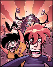Image: Penny Arcade Vol. 01: Attack of the Bacon Robots! SC  - Dark Horse Comics