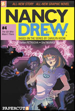 Image: Nancy Drew Graphic Novel #04: The Girl Who Wasn't There SC  - Papercutz