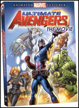 Image: Ultimate Avengers the Movie DVD