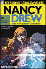 Image: Nancy Drew Graphic Novel #06: Mr. Cheeters Is Missing SC  - Papercutz