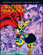 Image: Modern Masters Vol. 08: Walter Simonson SC  - Twomorrows Publishing