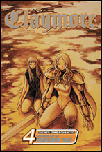 Image: Claymore Vol. 04 SC  - Viz Media LLC