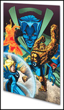 Image: Marvel Adventures Fantastic Four Vol. 04: Cosmic Threats  (digest) - Marvel Comics