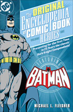 Image: Original Encyclopedia of Comicbook Heroes Vol. 01: Batman SC  - DC Comics