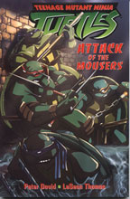 Image: Teenage Mutant Ninja Turtles: Attack of the Mousers SC  - Mirage Studios