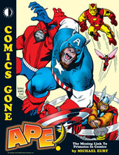 Image: Comics Gone Ape!: The Missing Link to Primates in Comics SC  - Twomorrows Publishing
