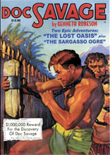 Image: Doc Savage #7: The Lost Oasis & The Sargasso Ogre SC  -