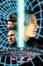 Image: Star Trek the Next Generation: Space Between #5 (Retailer incentive cover)