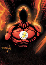 Image: Flash: The Fastest Man Alive #13 (Costume Cover) - DC Comics