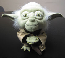 Image: Star Wars Yoda Super Deformed Plush  -
