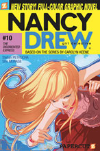 Image: Nancy Drew Graphic Novel # 10: Disoriented Express SC  - Papercutz