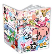 Image: Dark Horse Deluxe Journal: Tokidoki Spiral Bound  - Dark Horse Comics