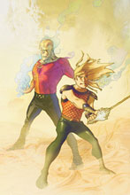 Image: Outsiders: Five of a Kind - Week 4: Metamorpho / Aquaman #4