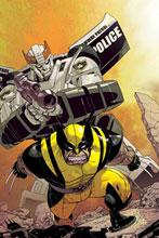 Image: New Avengers / Transformers #2 - Marvel Comics