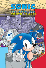 Image: Sonic the Hedgehog Archives Vol. 05 SC  - Archie Comic Publications