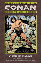 Image: Chronicles of Conan Vol. 13: Whispering Shadows & Other Stories SC  - Dark Horse Comics
