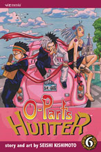 Image: O-Parts Hunter Vol. 06 SC  - Viz Media LLC