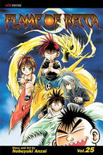 Image: Flame of Recca Vol. 25 SC  - Viz Media LLC