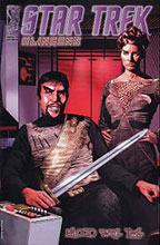 Image: Star Trek: Klingon's Blood Will Tell #4 (Retailer variant cover)