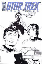 Image: Star Trek: Year Four #4 (Retailer incentive Sketch cover) - IDW Publishing