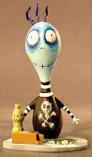 Image: Tim Burton Toxic Boy, Mummy Boy, and Jimmy the Penguin Boy PVC Set  -