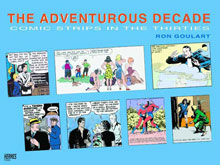 Image: Adventurous Decade: Comic Strips in the Thirties SC  - Hermes Press