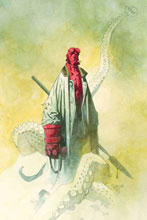 Image: Hellboy: Odder Jobs Illustrated Novel SC  - Dark Horse Comics