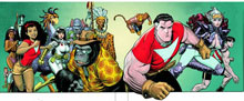 Image: Tom Strong's Terrific Tales Book One SC  - DC Comics