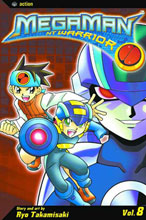 Image: Megaman NT Warrior Vol. 08 SC  - Viz Media LLC