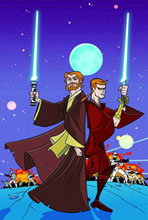 Image: Star Wars: Clone Wars Adventures Vol. 01 SC