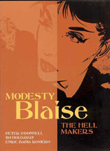 Image: Modesty Blaise: Hell Makers SC  - Titan Publishing