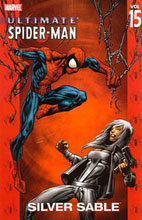 Image: Ultimate Spider-Man Vol. 15: Silver Sable SC  - Marvel Comics