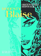 Image: Modesty Blaise: Green Eyed Monster SC  - Titan Publishing