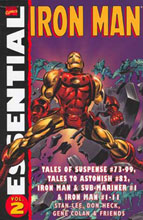Image: Essential Iron Man Vol. 02 SC  - Marvel Comics
