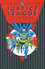 Image: Justice League of America Archives Vol. 01 HC  - DC Comics