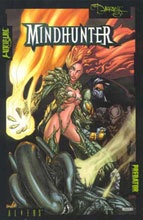 Image: Aliens vs. Predator vs. Witchblade vs. Darkness: Mindhunter SC  - Dark Horse Comics