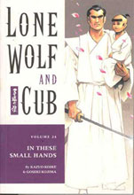 Image: Lone Wolf & Cub Vol. 24: In These Small Hands SC  - Dark Horse Comics