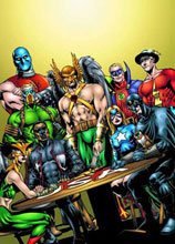 Image: JSA Vol. 03: The Return of Hawkman SC  - DC Comics