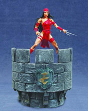 Image: Marvel Select Action Figure: Elektra  - Marvel Comics