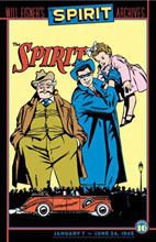 Image: Will Eisner's Spirit Archives Vol. 10 HC  - DC Comics