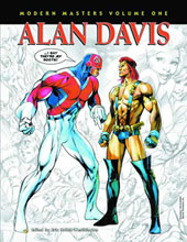 Image: Modern Masters Vol. 01: Alan Davis SC  - Twomorrows Publishing
