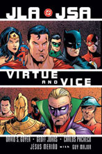 Image: JLA / JSA: Virtue & Vice SC  - DC Comics